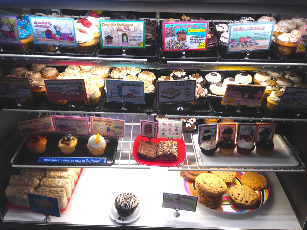 Cupcake Display Case