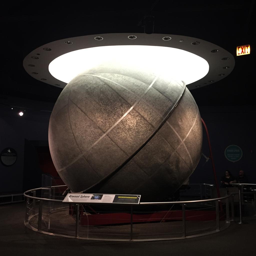102 year old mechanical planetarium